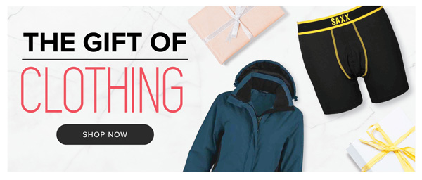 Shop Our Gift Guide | The Gift Of Clothing